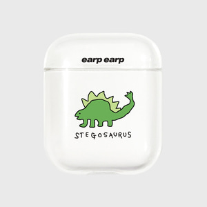 Stegosaurus-clear(Air pods)