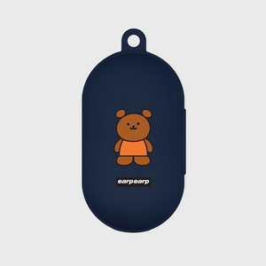 Kids bear-navy(Buds jelly case)