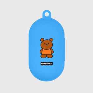 Kids bear-blue(Buds jelly case)