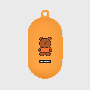 Kids bear-orange(Buds jelly case)