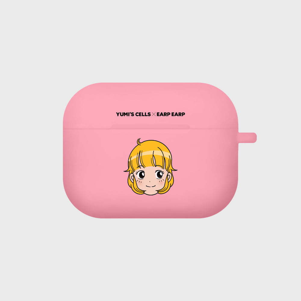 yumi cell-pink(Air pods pro case)
